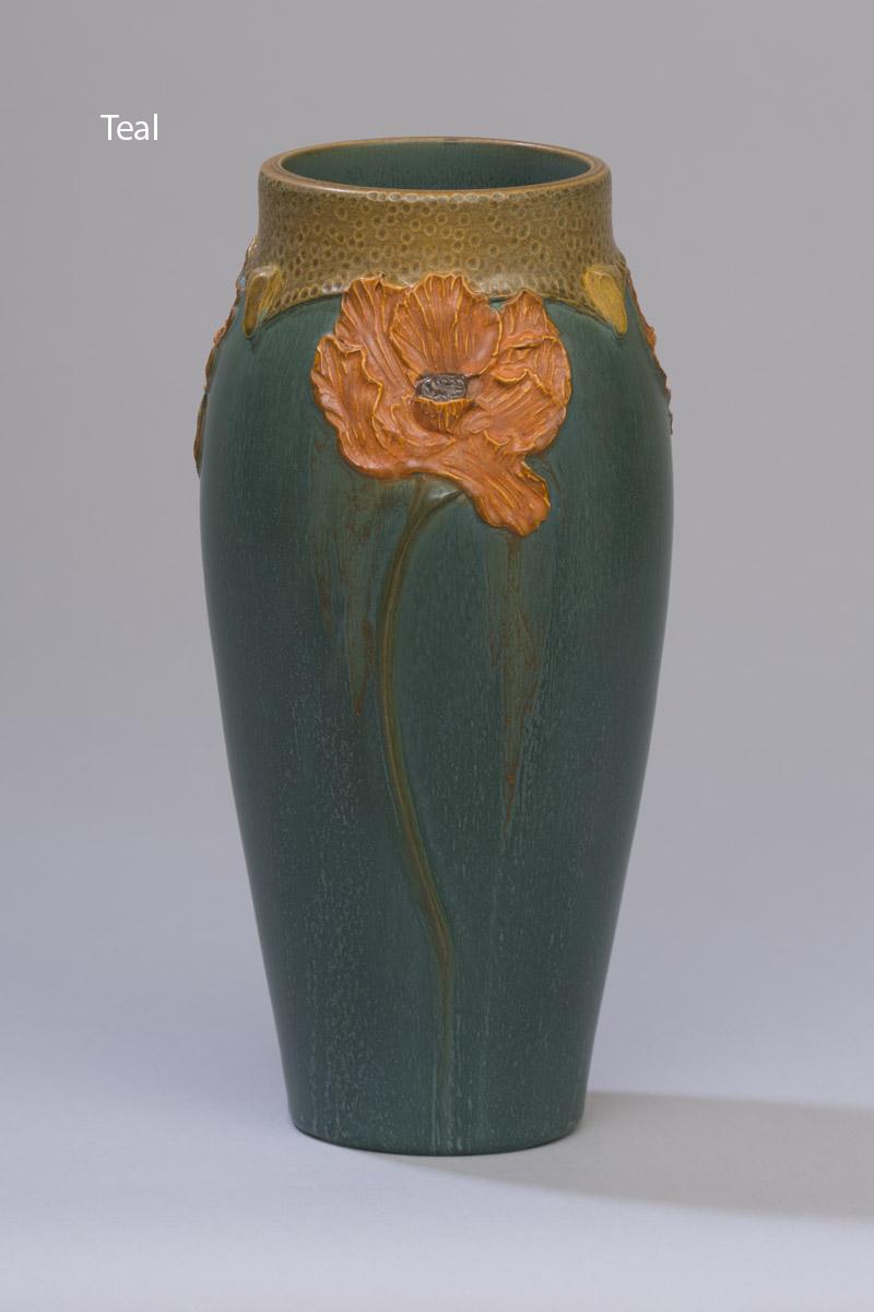 Craftsman Poppy Vase Ephraim Pottery