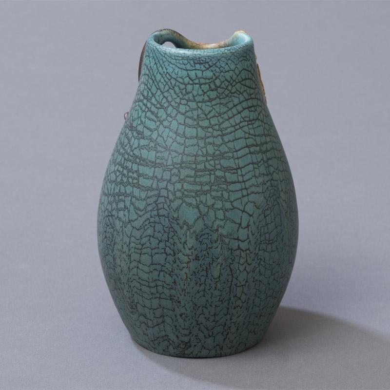 Falling Ginkgo Cabinet Vase Ephraim Pottery