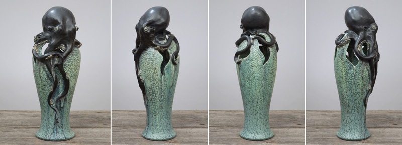 "21"" Octopus Vase - Custom $1,000"