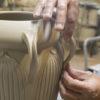 Seven Handled Vase