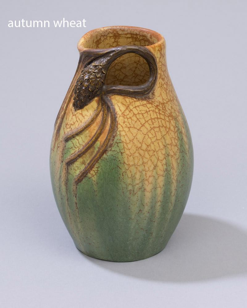 Bowing Pine Cabinet Vase Ephraim Pottery