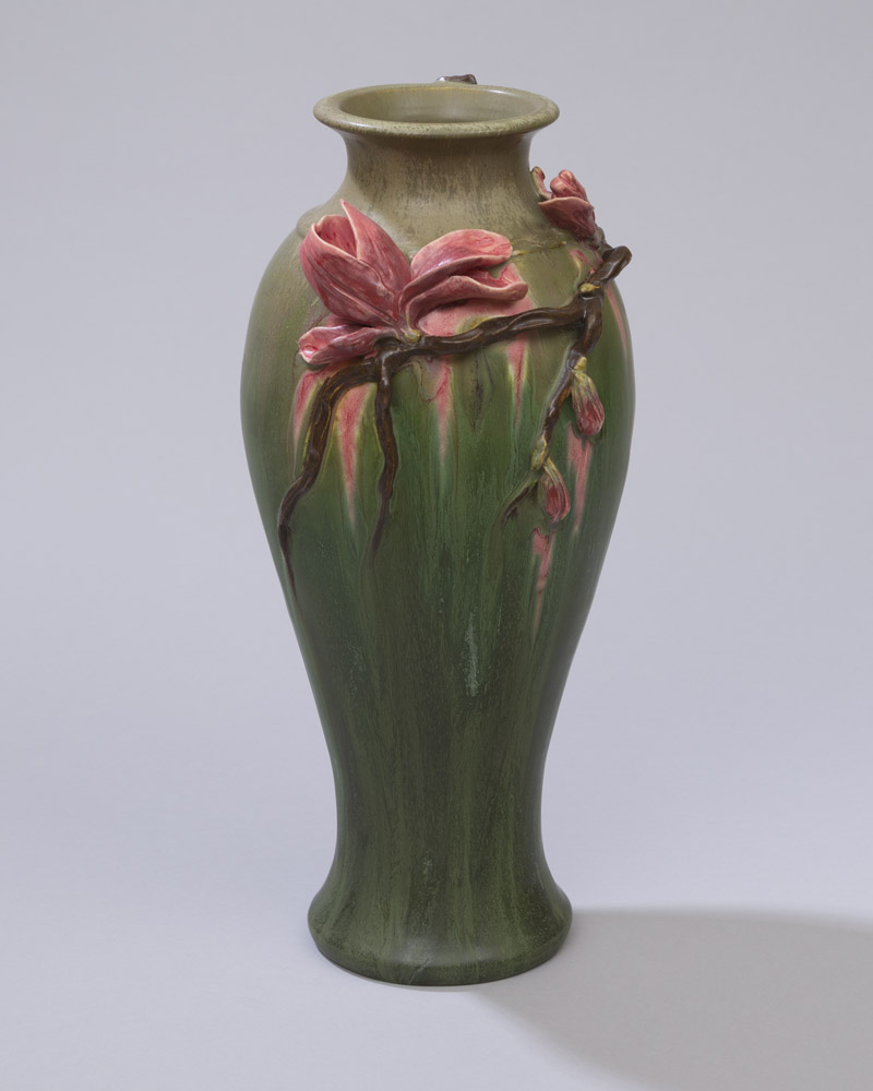 Sweet Magnolia Vase Ephraim Pottery