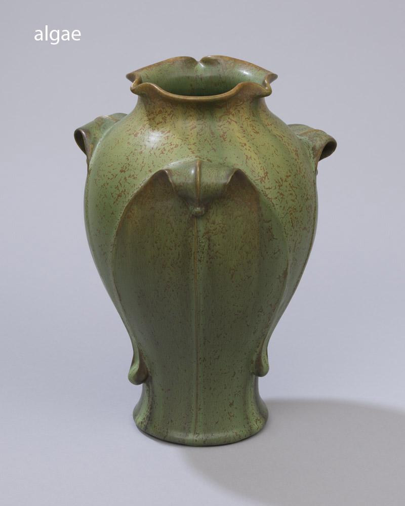 canopy vase - ephraim pottery