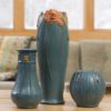 Tall Craftsman Rose Vase