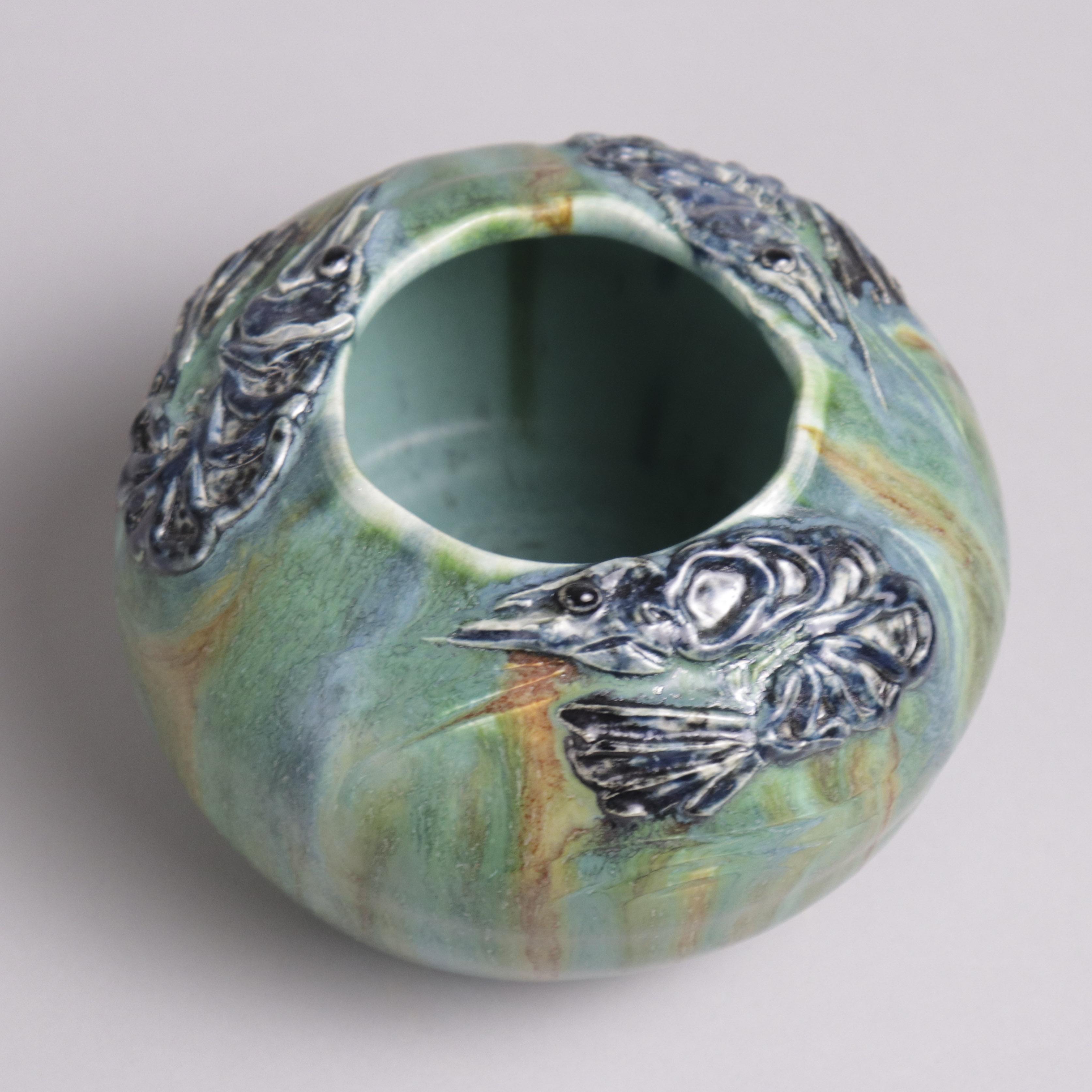 shrimp bowl experimental ephraim pottery