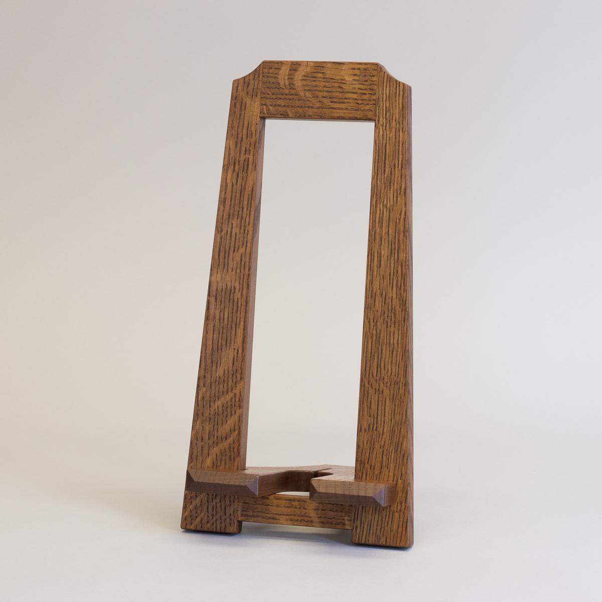 Quarter Sawn Oak Frame Stand Ephraim Pottery