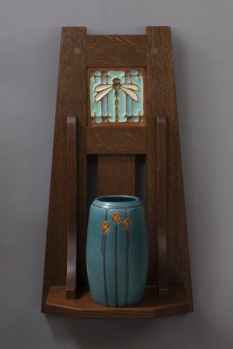 Craftsman Dragonfly Tile Ephraim Pottery