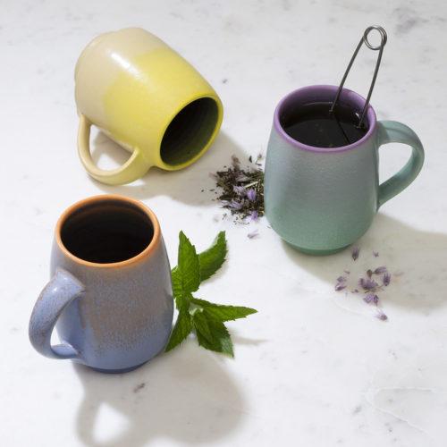 Midcentury Modern Essential Handmade Ceramic Pottery Mug
