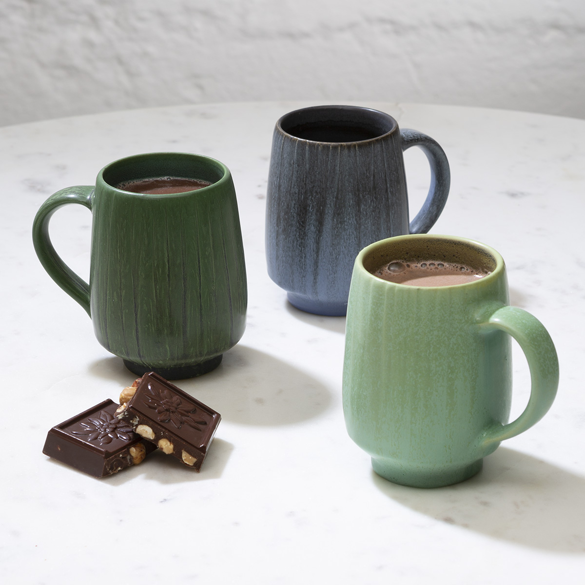 Pottery Coffee Mugs Evergreen Mug Ephraim Pottery