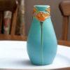 Pacific Poppies Bud Vase