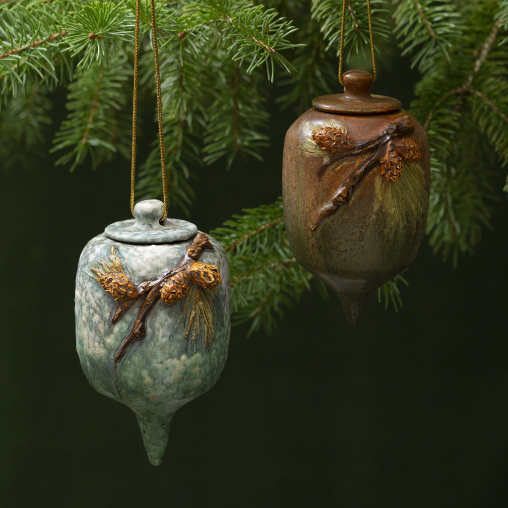 Snowy Pine Ornament–Limited Edition, 2019 Winter Collection