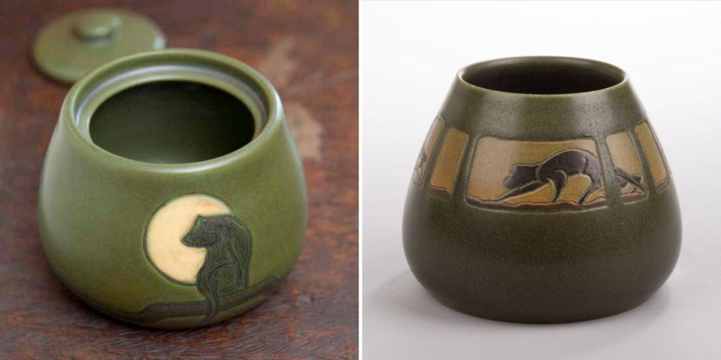 Retired and Experimental Ephraim Pottery inspired by Marblehead