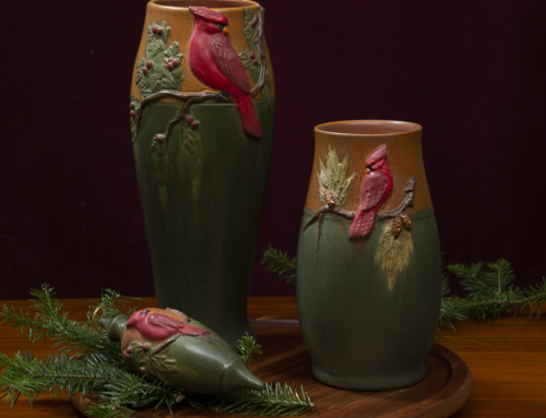 Eyecatcher Vase–This year's Winter Holiday Series
