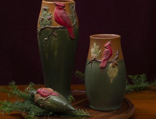 Eyecatcher Vase–This year's Winter Holiday Series