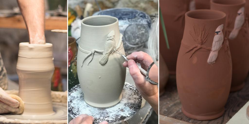 Making the Eyecatcher Vase